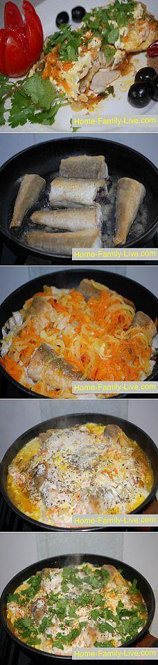 Рыба в молочном соусе - пошаговый фоторецептКулинарные рецепты