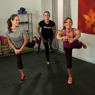 10 Minutes to Leaner, Longer Looking Legs: If you can spare 10 minutes, we can help you whip your legs into shape.