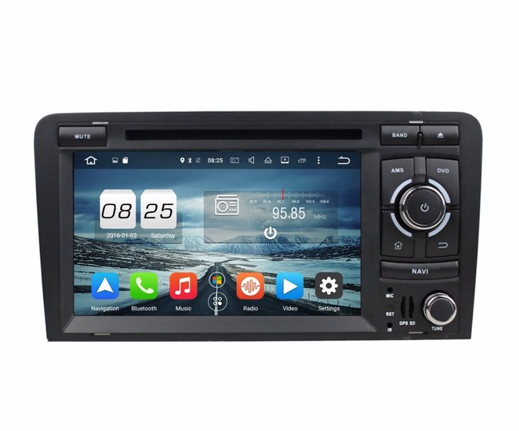 For Audi A3 S3 Android 7 1 7 Car Radio DVD GPS 1024x600 2GB RAM Touch Screen