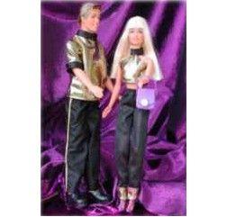 Barbie Schnittmuster: Disco-Fieber