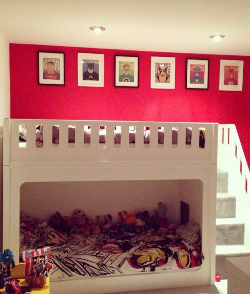 How You Can Save Space with Kids Bunk Beds #BunkBeds #KidsBeds #Beds #Beddings