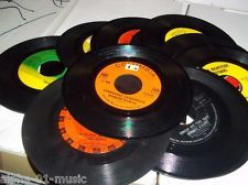 REAL not fake 7inch Vinyl Records Home Wall Decor 50s 60's Party Theme & MORE