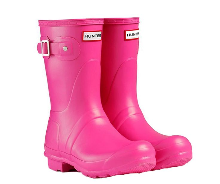 Hunter Original Short Ladies Wellington - Robin Elt Shoes  http://www.robineltshoes.co.uk/store/search.asp?keyword=wellington #Festival #Wellies #FestivalWellies #Wellington #WellingtonBoot #UK #Pink