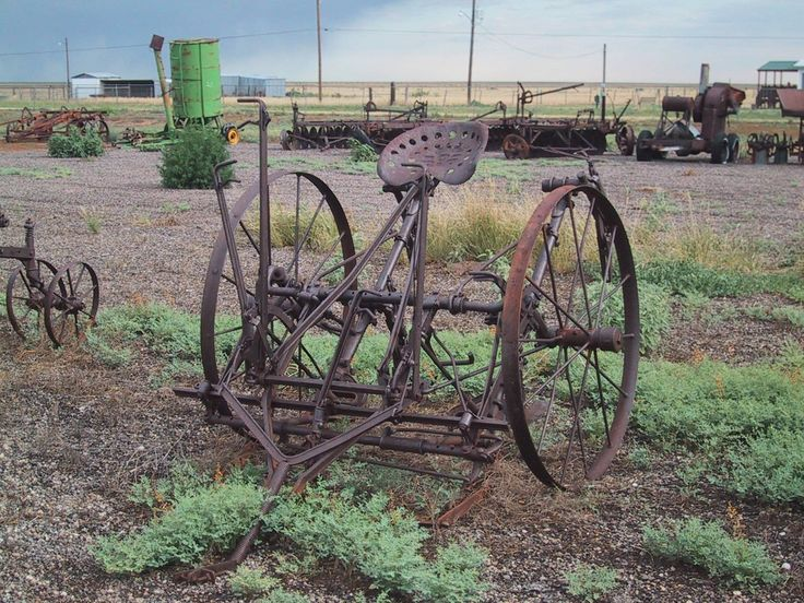 Farm Implement Pieces : S horse drawn piece of machinery old farm