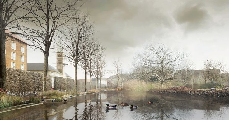 Enghaveparken, a public park in Denmark's capital city is set to undergo a redesign that will make it part of Copenhagen's cloudburst solution.