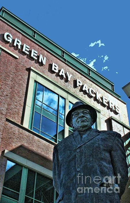 Green Bay Packers Photograph  - Green Bay Packers Fine Art Print