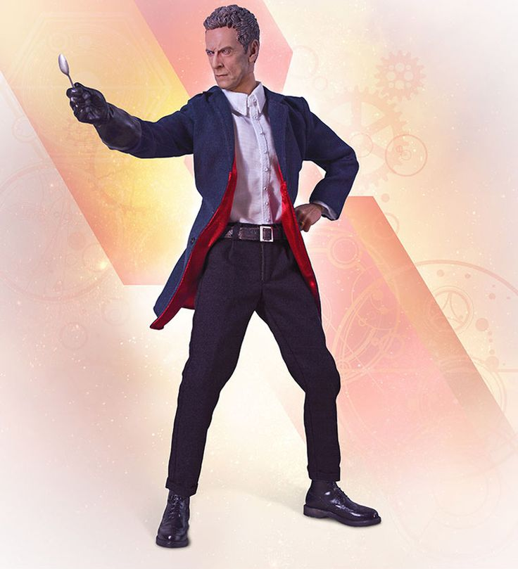 Doctor Who 12th Doctor Series 8 Figure