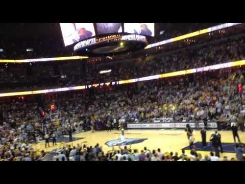 Whoop That Trick featuring Al Kapone - FedEx Forum Grizzlies Playoffs 5/11/13