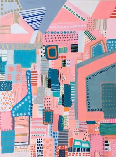 Melanie Biehle - Abstract Cityscape