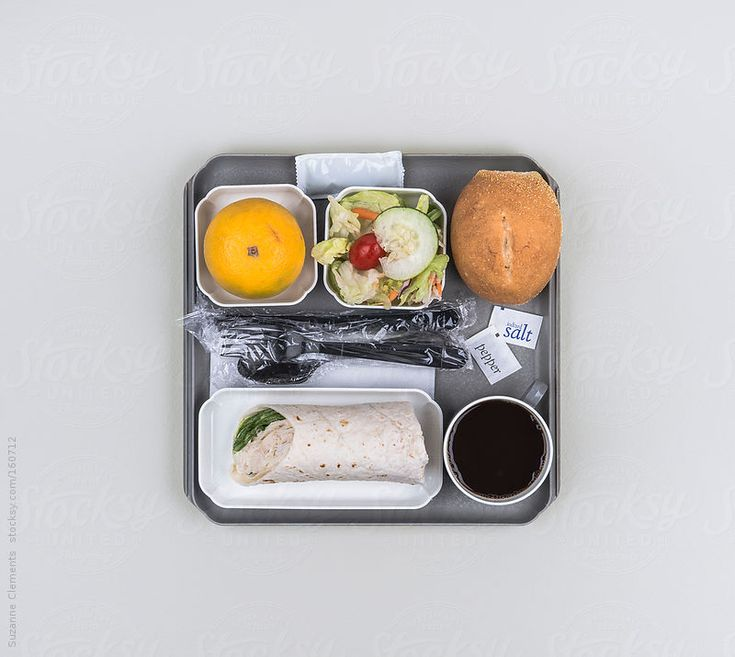 This Airline Lunch Only Looks Good When You're Trapped on a Long Fligh by suzanne clements for Stocksy United