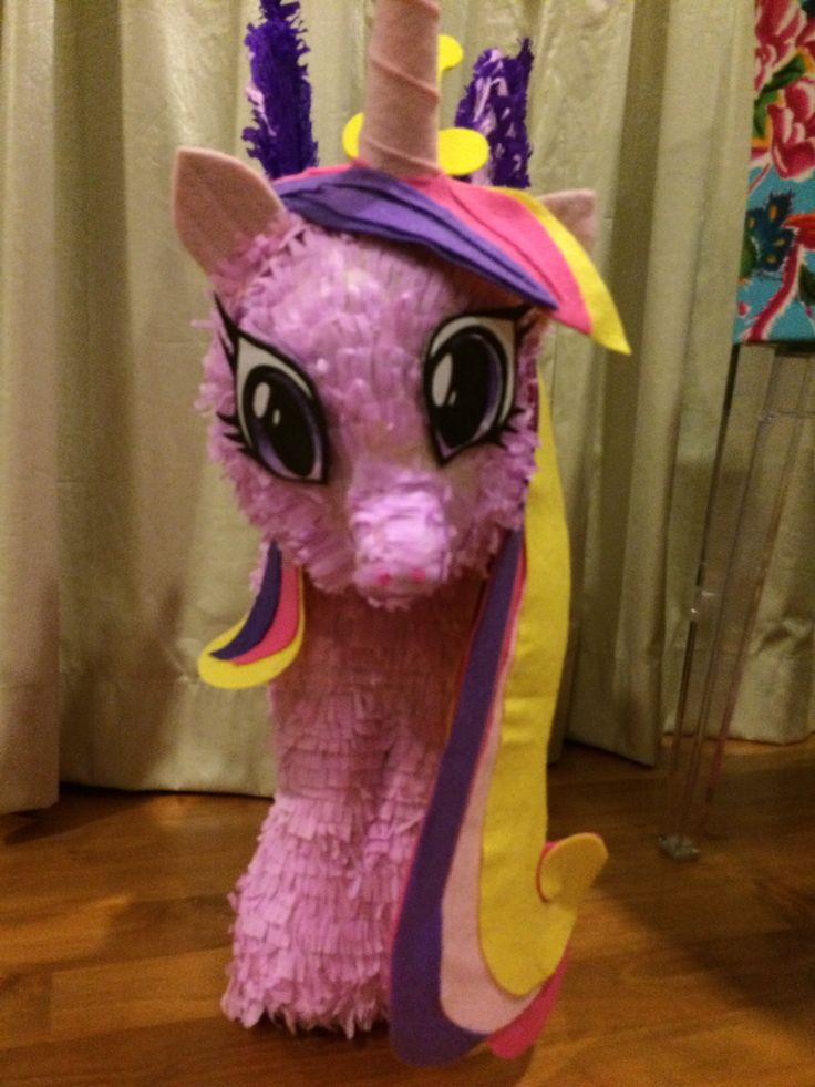 My Little Pony Pinata For My 5 Year Old Girl S Party
