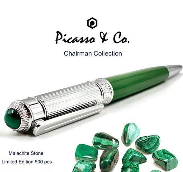 Picasso Pen Writing Instruments Malachite Stone Pen