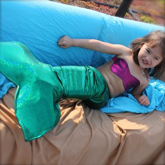 Little girls mermaid tail size 810Inspired by by ApplejackApparel, $39.99