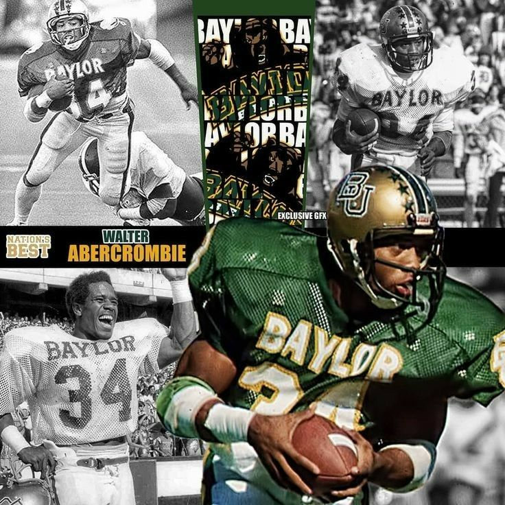 Walter Abercrombie Baylor In 2020 College Football Players Baylor Ncaa Football