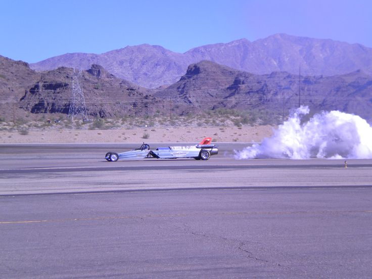 2017 1st Annual AirFest sponsored by Hanger 24 Brewery in Lake Havasu City, AZ featuring military and vintage aircraft and this Jet Car.