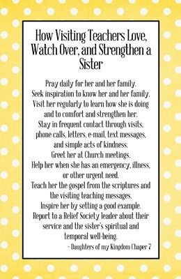 preview How Visiting Teachers Love, Watch Over, and Strengthen a Sister from DK