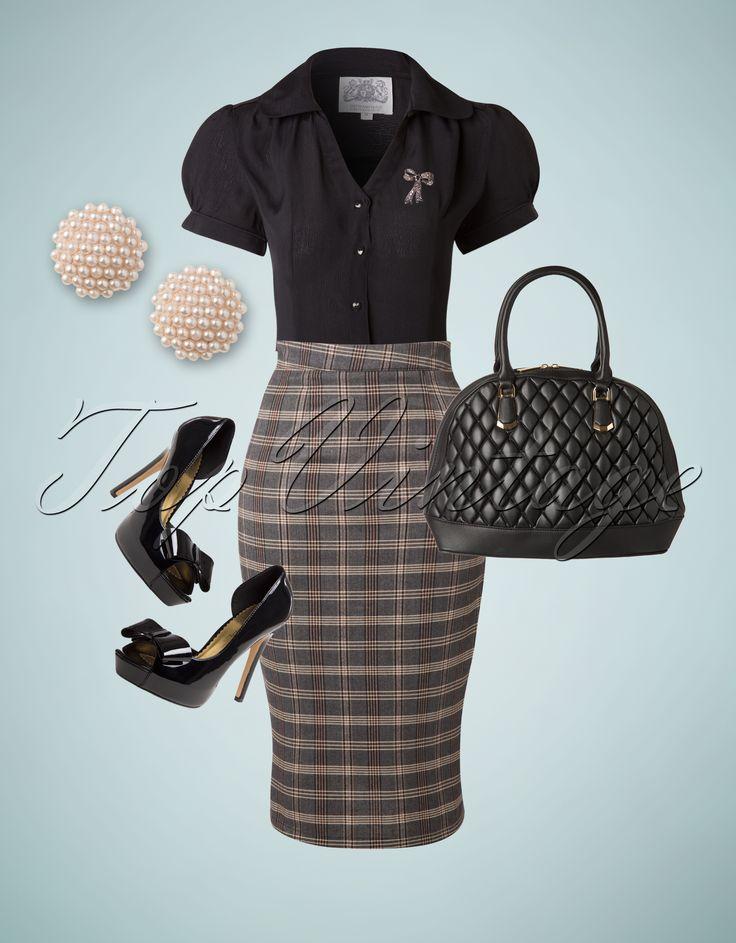 Classy ladies, beware; this elegant vintage look is a musthave!