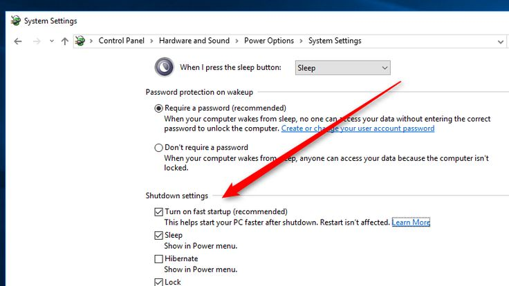 Enable This Setting To Make Windows 10 Boot Up Faster Windows 10 Windows 10 Things