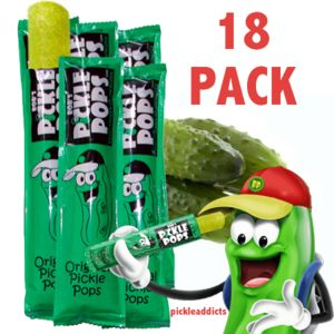 Bob's Pickle Pops Dill Pickel Juice Popsicles (18 ct)!  You don't have to be pregnant to crave Pickle Pops (previously known as Pickle Sickles). They've been selling out in Texas for years, and now you can enjoy them wherever you live.