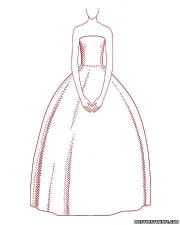 Do you know the six classic wedding dress silhouettes?