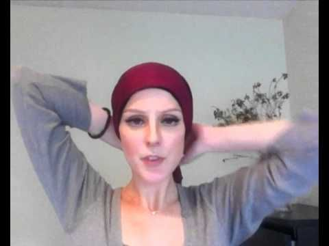 It is amazing how many times I have been asked by cancer patients to teach them how to tie a head wrap since I wear them all the time. This is one of my favorite styles and it is so easy!