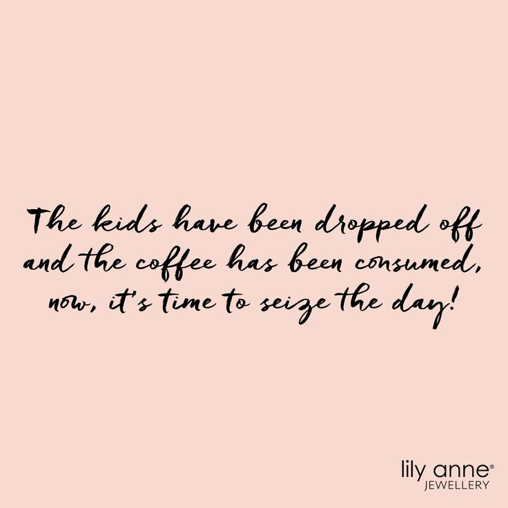 t's time to seize the day, lady bosses! ☕️ #lilyannejewellery #seizetheday #quote #yougotthis