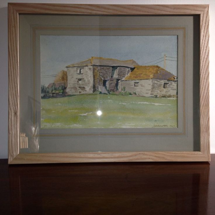 Cornish Watercolour: 'The Old Threshing Barn Porthcothan' Signed & Dated. | eBay