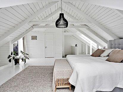 Bilder, Sovrum, Grå, Säng, Vit - Hemnet Inspiration