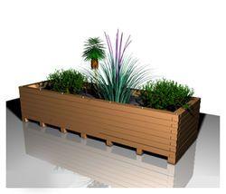 Jardinière d'extérieur pour terrasse