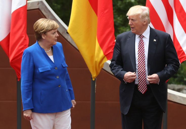 """The U.S. and Europe can work together without being friends. The Opinion Pages 