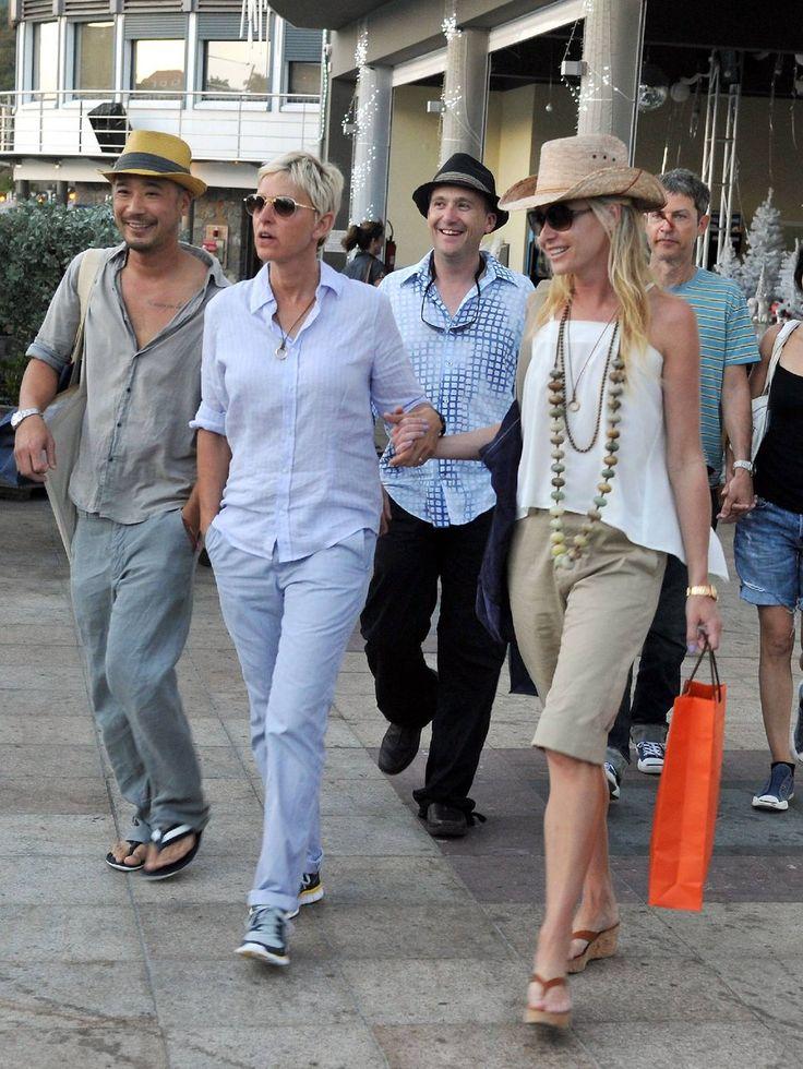 ellen degeneres street style | Ellen DeGeneres and her wife Portia de Rossi Foto | Posh24.de