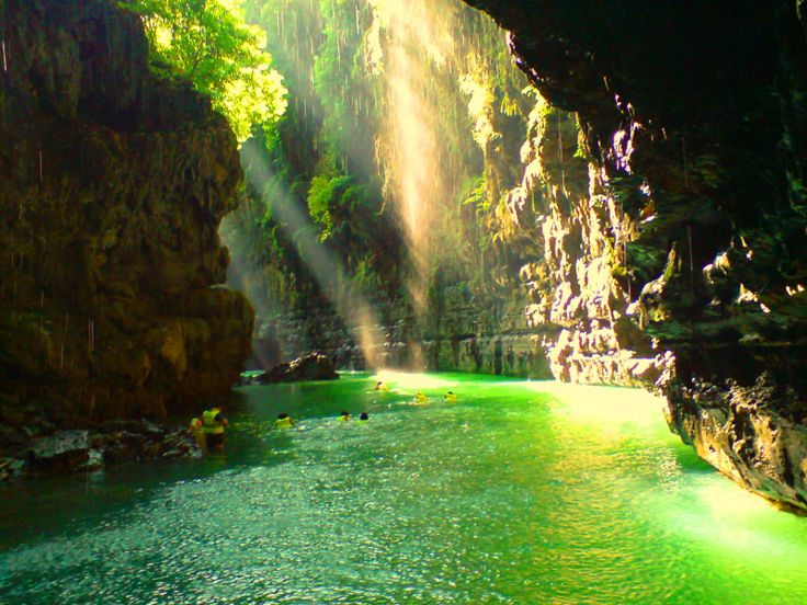 Green Canyon (Cukung Taneuh) from Ciamis, West Java, Indonesia  Read more: http://pinterestingpictures.blogspot.com/2013/03/most-beautiful-pictures-of-indonesia-90.html#ixzz3Q5dMcJa0