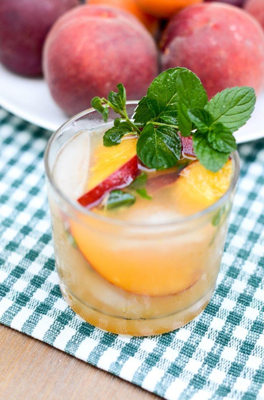 Peaches & Herb cocktail