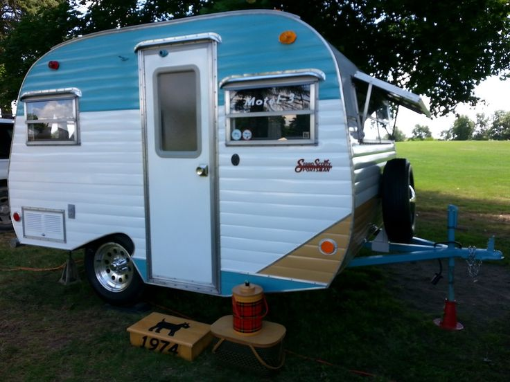 Campers For Sale Near Me >> A true appreciation society for vintage trailers, Tin Can Tourists was actually founded long ...