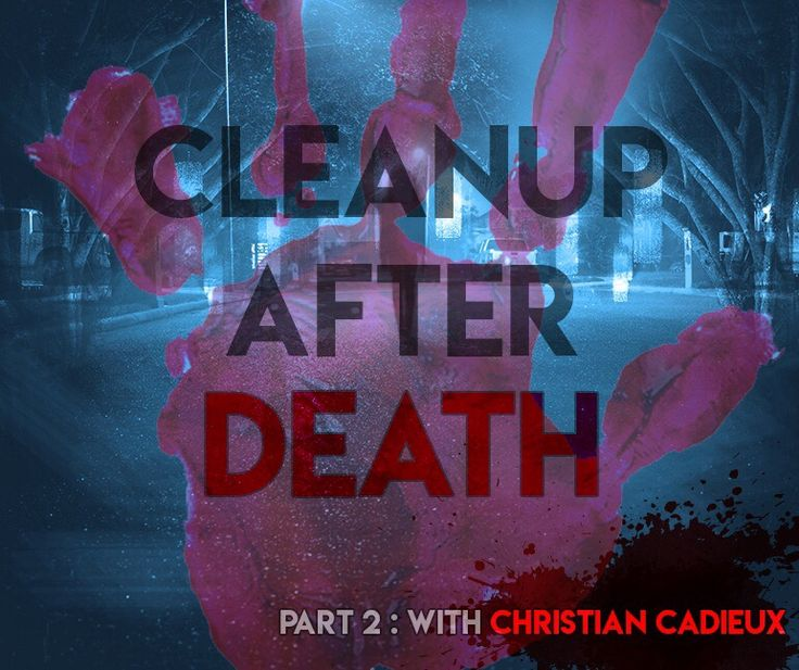 Prepare for some raw true crime discussion, as we enter part 2 of our chat with Christian Cadieux of Crime & Trauma Scene Cleaners. What's just another day at work for Christian, could very well be traumatizing for most of us. Christian shares some of ...