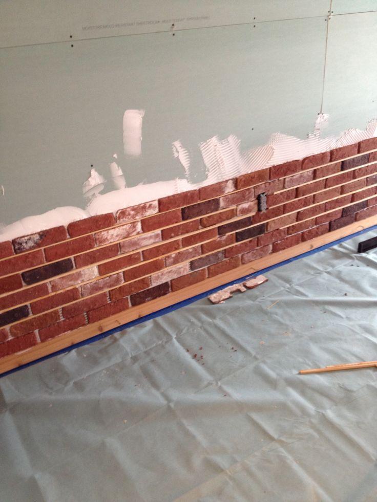 One Thin Brick At A Time. Brick InteriorInterior WallsThin ...