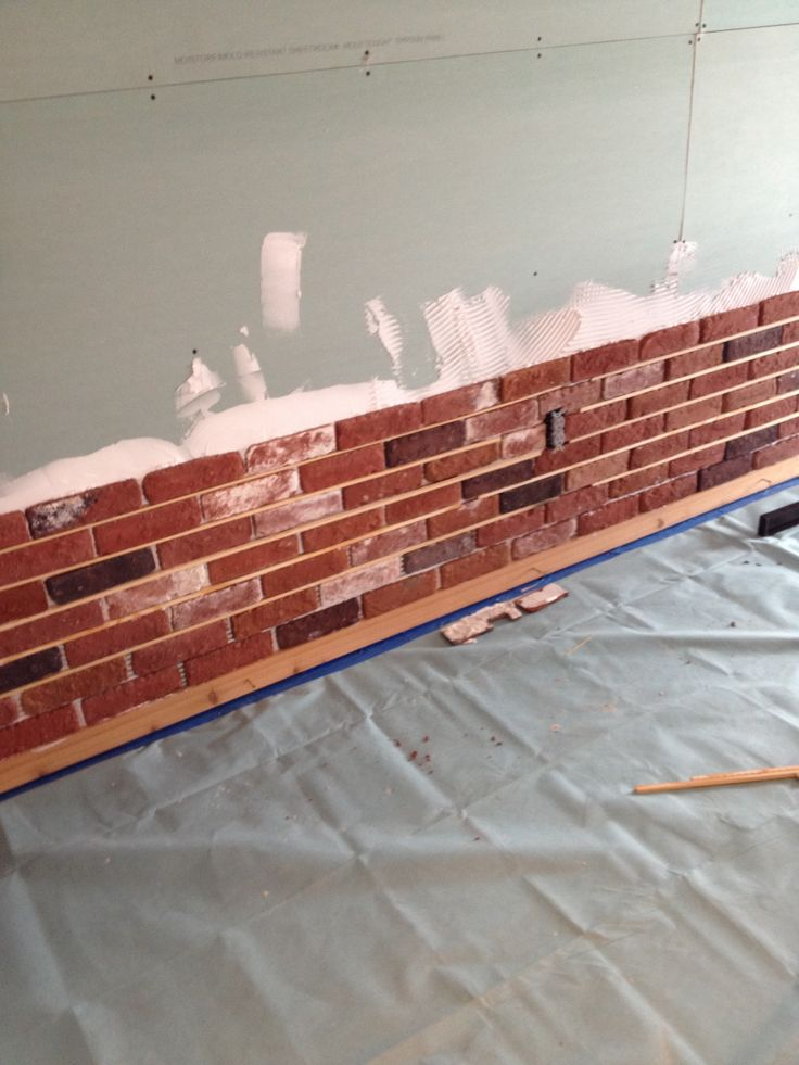 21 Best Images About Brick Thin Brick Interior Walls On Pinterest
