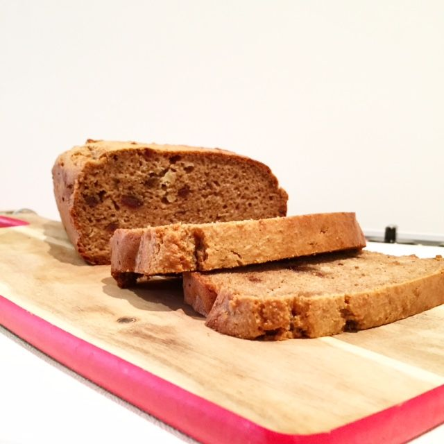 Grain Free Date Loaf Recipe with instructions for the Tefal Cuisine Companion and the Thermomix.
