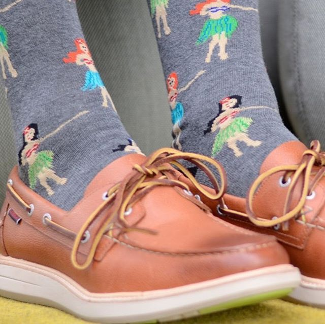 Some days the only thing that will cheer (and warm) you up is a new pair of funky socks!  Snag these super cool hula girls from @p_u_s_s_y_f_o_o_t_s_o_c_k_s from just $14.95 in-store 💃💃💃