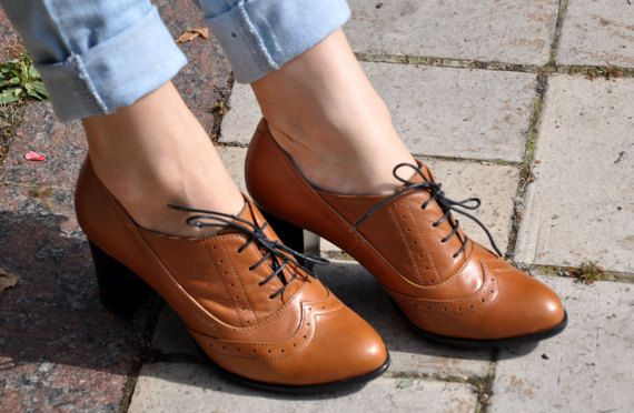 I want these but would want to customize them-Kent Oxford Pumps Womens Oxfords Heeled Oxfords by JuliaBoShoes