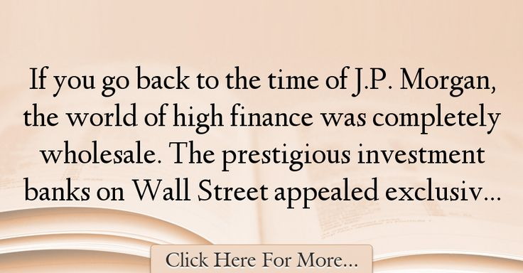 Ron Chernow Quotes About Finance - 22808