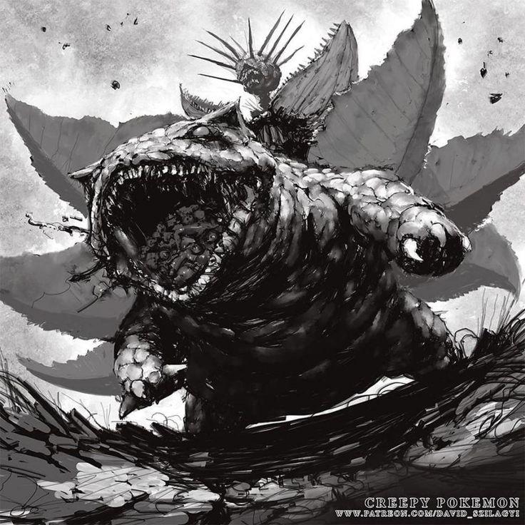 Pokemon Monsters – Quand un illustrateur dévoile le côté sombre des Pokémon   Ufunk.net
