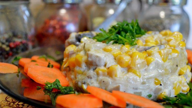САЛАТ ПАНДОРА! Очень вкусный и необычный. Простой рецепт вкусного салата...