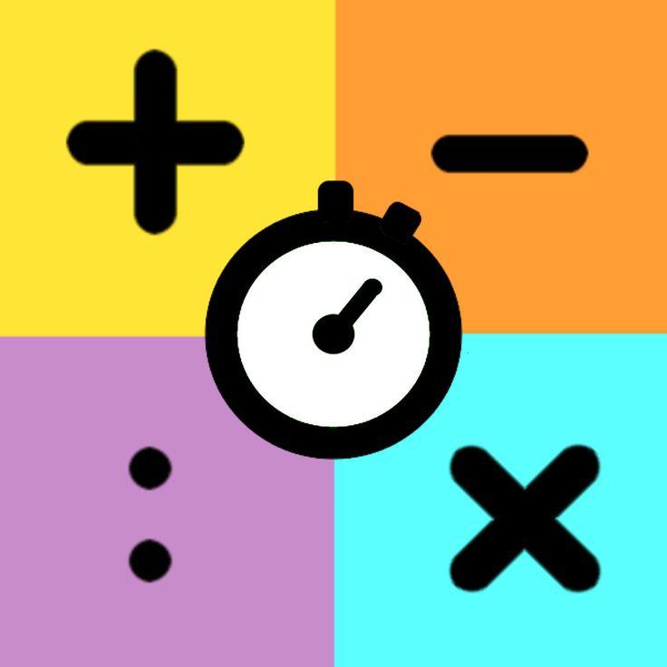 App Goed Snel Rekenen (eerst goed, dan snel) - +, -, x, :