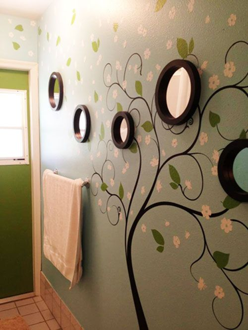 Best Stickers Nature Images On Pinterest Salons Wall - How to put up a large wall decal