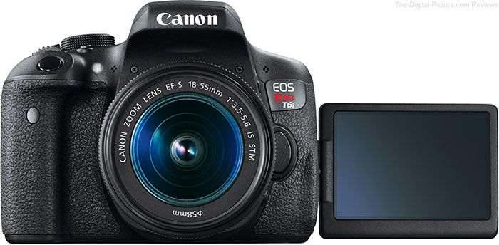 The-Digital-Picture.com's news team presents: 20 Steps to the Perfect Canon EOS Rebel T6s/T6i Setup