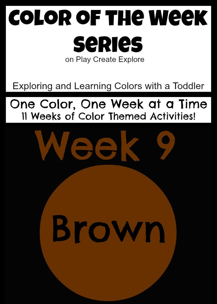 Preschool Color Activities - Teaching 2 and 3 Year Olds