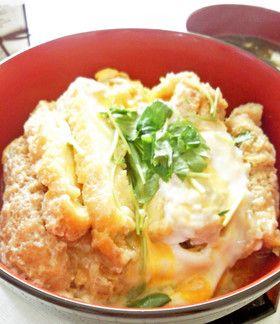 高野豆腐 de なんちゃってカツ丼♪ by きちいほわいと [クックパッド] 簡単おいしいみんなのレシピが253万品
