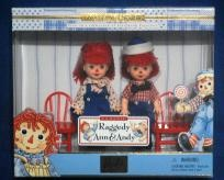 Kelly and Tommy set as Raggedy Ann & Andy