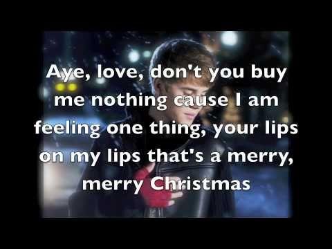 Justin Bieber - Mistletoe (Lyrics on Screen)